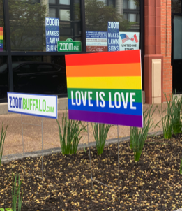 Love is Love Lawn Sign
