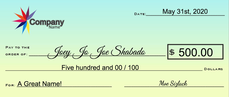 Joey Jo Joe!
